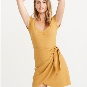 Abercrombie and Fitch Yellow Mini Dress